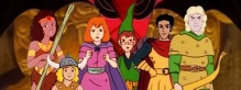 Imagem do desenho Caverna do Dragão