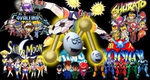 Imagem Animes da Rede Manchete